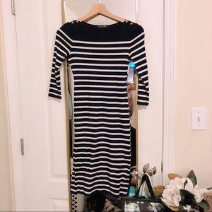 Lauren By Ralph Lauren Stripe Dress